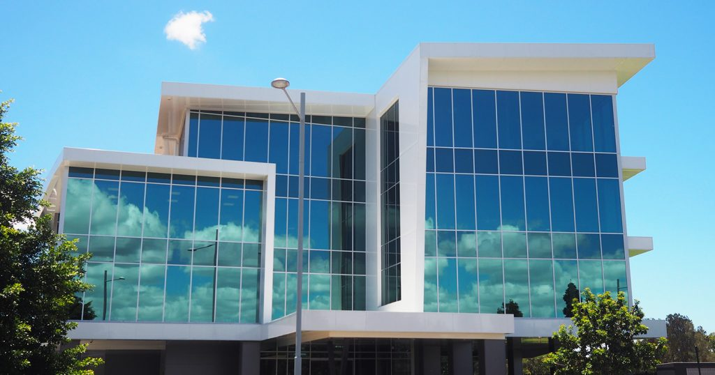 commercial glass south brisbane